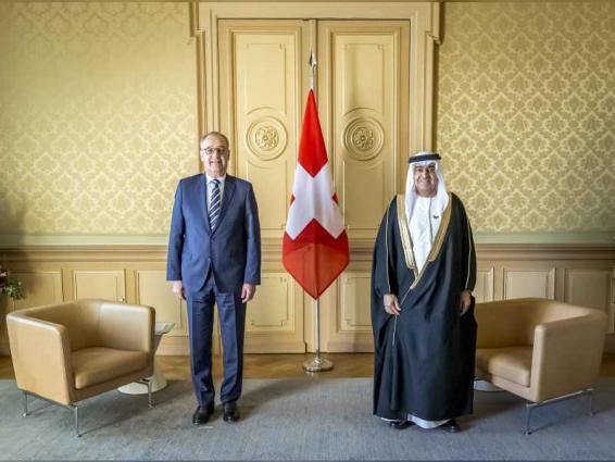 UAE Ambassador presents credentials to Swiss President