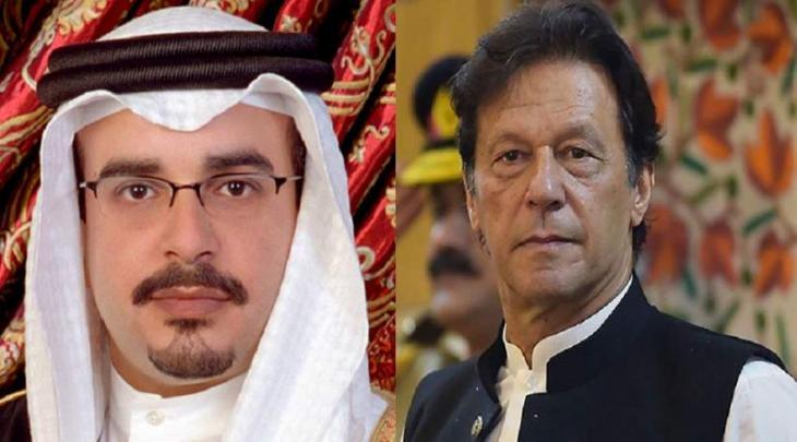 رئیس وزراء باکستان یتقلی اتصالا ھاتفیا من ولی العھد البحرینی الأمیر سلمان بن حمد آل خلیفة