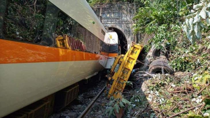 At least 50 dead as Taiwan train derails in tunnel