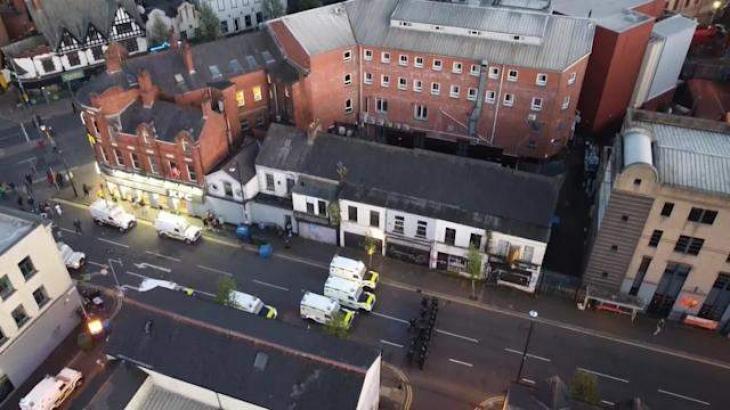 Belfast Rioting Leaves 15 Officers Injured - Police