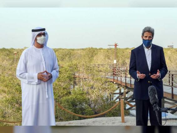 UAE, US special envoys for climate underline link between progress climate action and strong economic growth