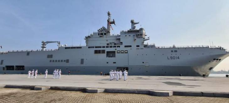 India Taking Part in French-Led La Perouse Drills in Bay of Bengal This Week