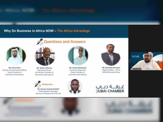 Dubai Chamber webinar showcases main advantages of doing business in Africa