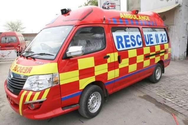Rescue-1122 responded 1,655 emergency calls in March