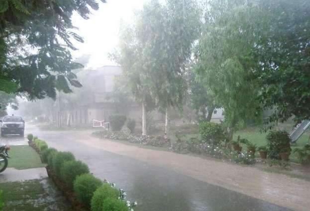 Rain with thunderstorm likely in KP in next 24