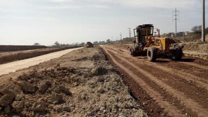 Development work at sector I-15 in full swing