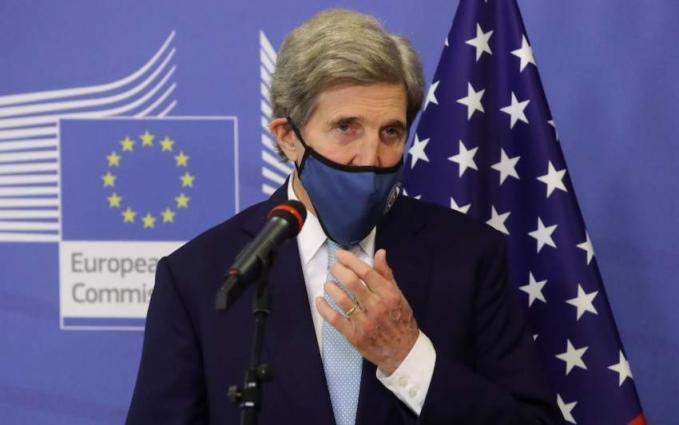Kerry presses India ahead of Biden climate summit
