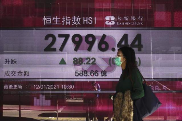 Hong Kong stocks close lower 7 april 2021