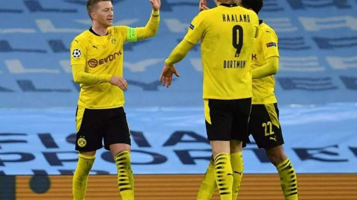 Dortmund dream of downing Man City despite 'brutally annoying' away defeat