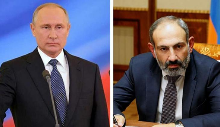 Pashinyan Wants to Discuss With Putin Construction of New NPP in Armenia, Military Issues