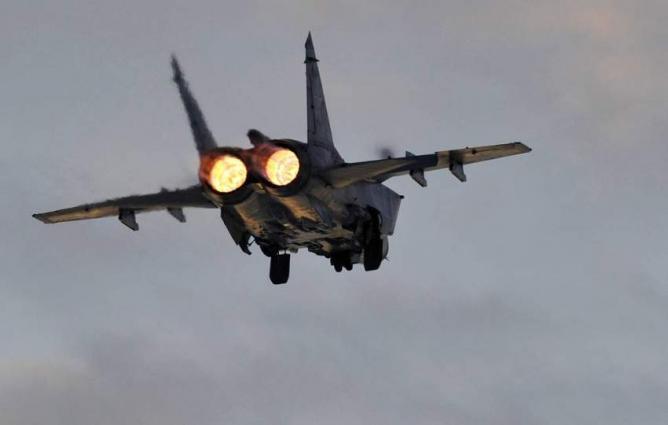 Russia's MiG-31 Intercepts Norwegian Spy Plane Near Russian Border Over Barents Sea
