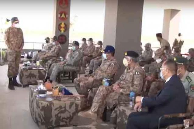 CJCSC visits Army Air Defence Ranges; witnesses firing of different Air Defence weapons