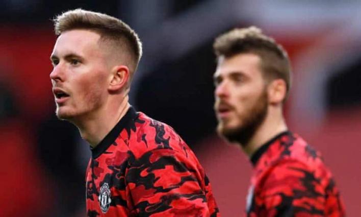 Solskjaer welcomes rivalry between goalkeepers De Gea and Henderson