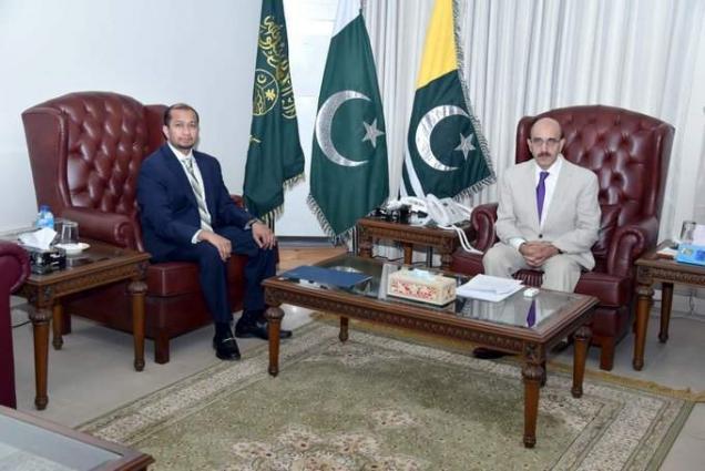 AJK President calls for US-based Diaspora community's vibrant role to re-energize campaign for Kashmir
