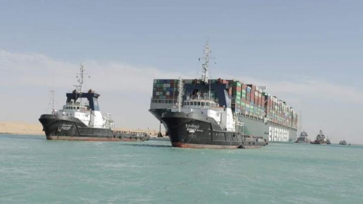 Suez Canal Chairman Says Rejected Plan to Saw Off Stranded Ship's Bow