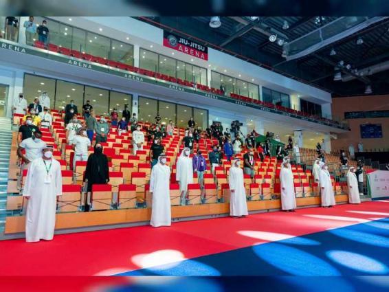 Hamdan bin Mohamed bin Zayed opens 12th Abu Dhabi World Professional Jiu-Jitsu Championship