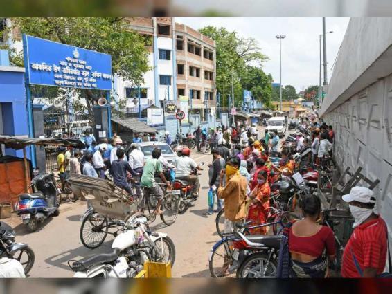 """الهند تسجل رقما قياسيا في عدد الإصابات اليومية بـ """"كورونا"""""""
