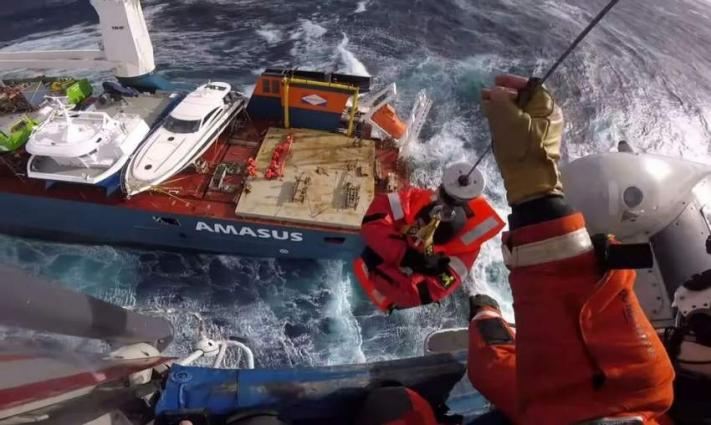 Norway authorities towing stray cargo ship to safety