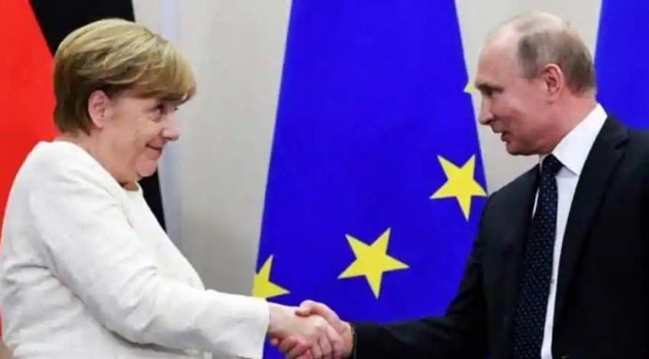 Putin, Merkel Discuss Activities of Foreign Media, NGOs in Both Countries - Kremlin