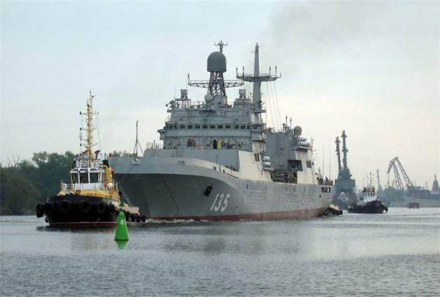Russia Moves 10 Naval Vessels From Caspian to Black Sea for Drills - Military