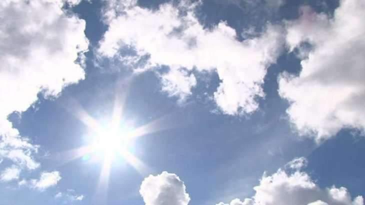 Dry weather with chances of dust raising winds