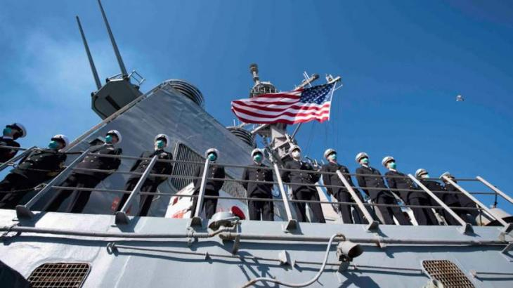 Cavusoglu Confirms US Canceled Warships Passage to Black Sea