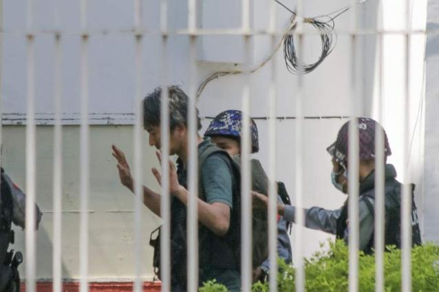 Japan urges release of journalist in Myanmar