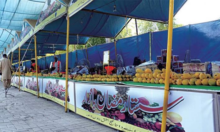 LWMC chairman visits Ramazan Bazaars