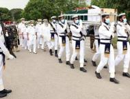Former Naval Chief Admiral Karamat laid to rest