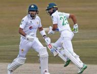 Pakistan scores 72 for one till lunch break on day one of 2nd Tes ..