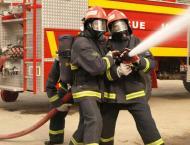 LPG shop catches fire