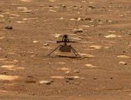 Perseverance rover captures sound of Ingenuity flying on Mars