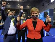 Scottish independence party seeks majority in 'knife-edge' count