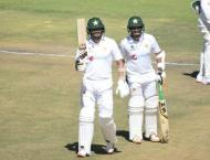 Pakistan crosses 500 scores with Abid's double century against  ..
