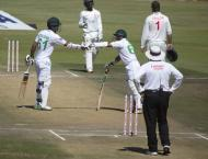 Pakistan declare after Nauman out for 97