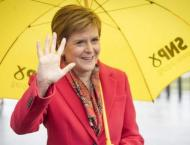 Scottish independence party predicted to fall short of majority
