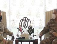 UK military chief calls on Army Chief Bajwa, discuss Afghan peace ..