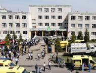 Nine dead in Russia school shooting