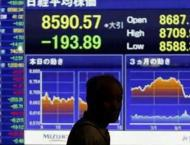 Tokyo stocks close lower ahead of US inflation data