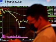 Taiwan stocks plummet on virus restrictions and tech selloff