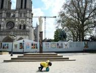 Square Outside Paris' Notre-Dame Closed Over High Lead Levels - R ..