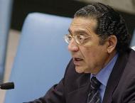 Pakistan's UN envoy praises dedication, service of peacekeepers