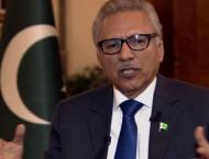 President for expanding, strengthening Pakistan-Jordan cooperatio ..