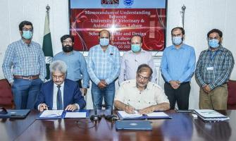 UVAS inks MoU with UMT to promote collaborative relationship in R ..