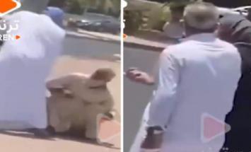 رجل یعتدی علی مقیم مسن بالضرب خلال شھر ..