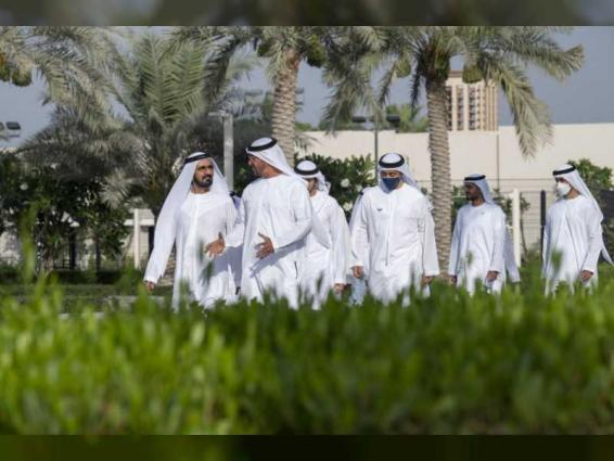 Mohamed bin Zayed receives Mohammed bin Rashid discuss national efforts to address COVID-19 pandemic