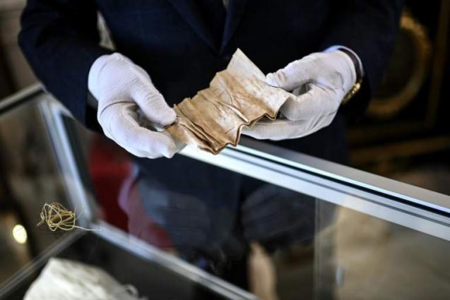 Napoleon's used hanky goes on sale