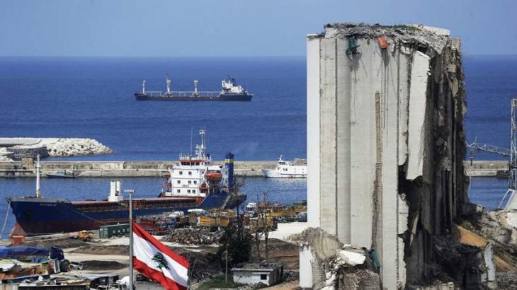 German Firm Removes Hazardous Materials Found After August 4 Blast in Beirut