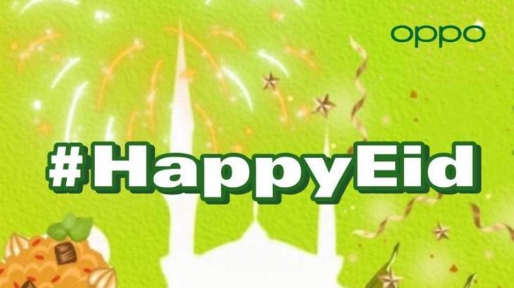 Share Your #HappyEid and #RamadanSpirit on TikTok with OPPO