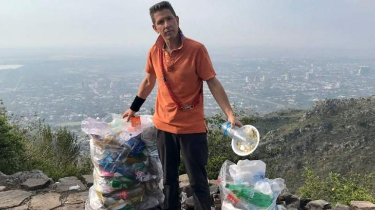 Cleanliness drive initiated at Margalla Hills after Christian's  tweet